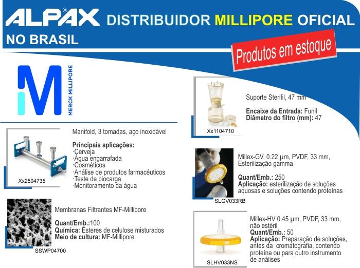 Merck Millipore, membrana filtrante, milex