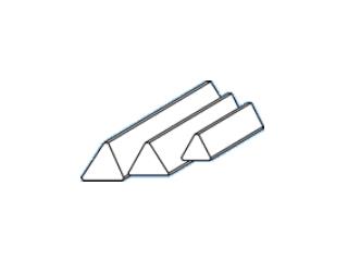 Barra Magnética triangular