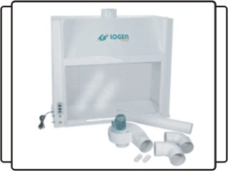 Capela de exaustão de gases - LS 0702
