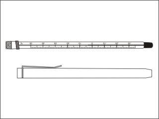 Termômetros refrigeração e laticínios, diam. 10,5±5mm