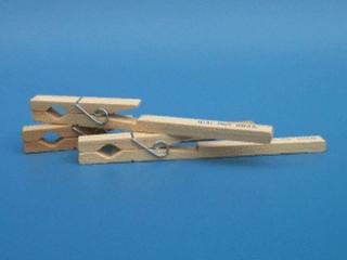 Pinça de madeira para tubo de ensaio