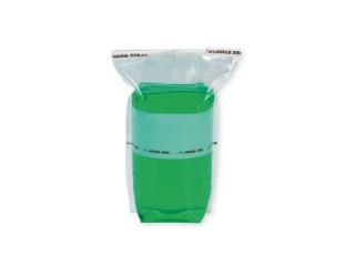 Saco estéril Nasco com tarja de identificação. Stand-up Bag - 710ml - B01401WA